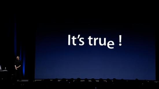 WWDC 2005 - It's true!