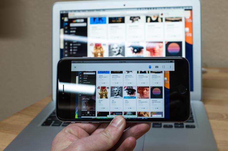 Access your desktop on iPhone using Chrome Remote Desktop