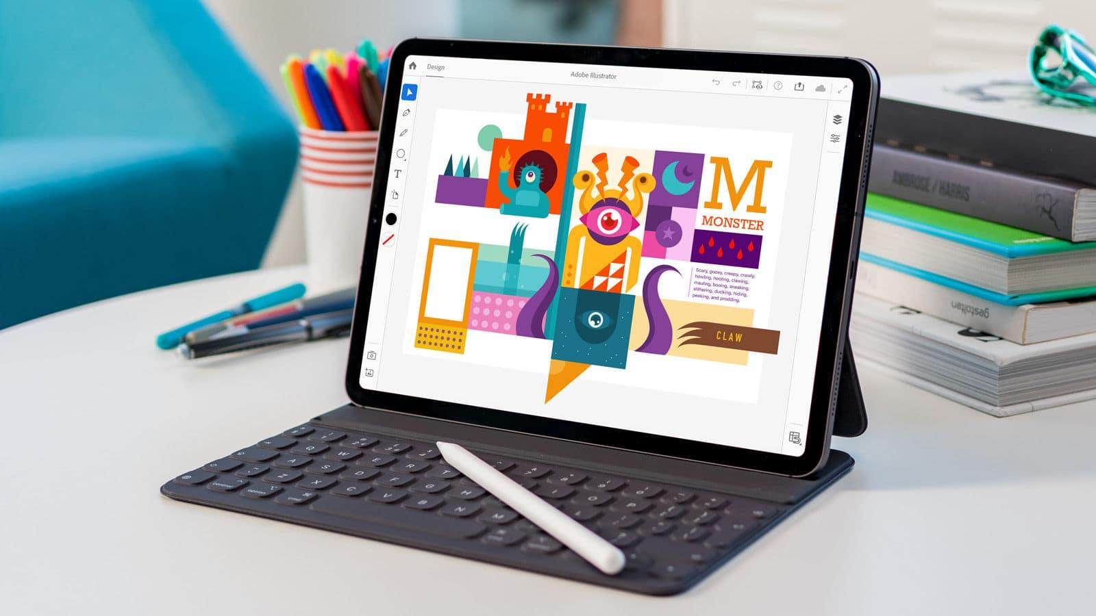 Adobe invites users to test beta version of Illustrator for iPad