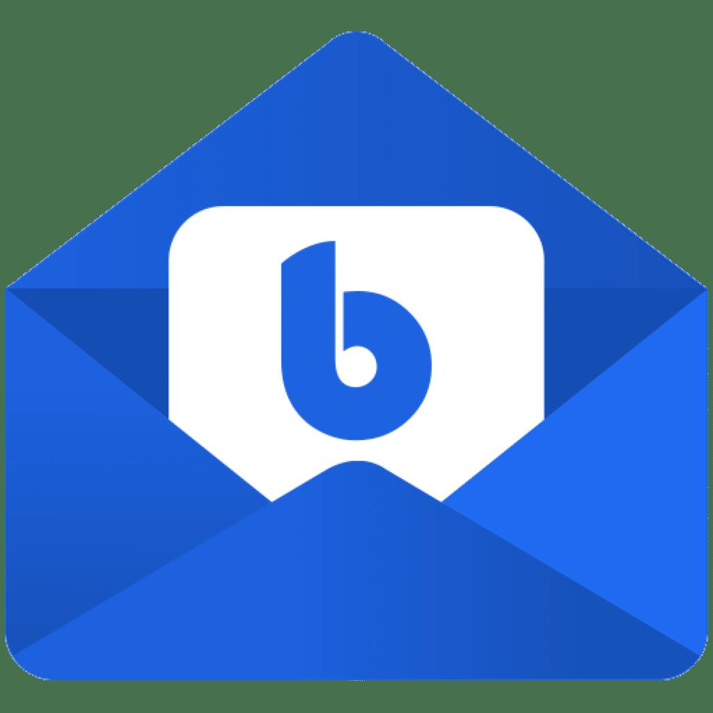 Screenshot do app BlueMail