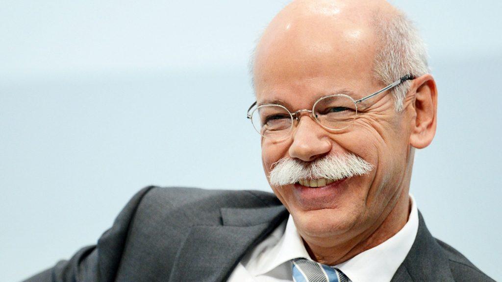 Dieter Zetsche, CEO of Daimler
