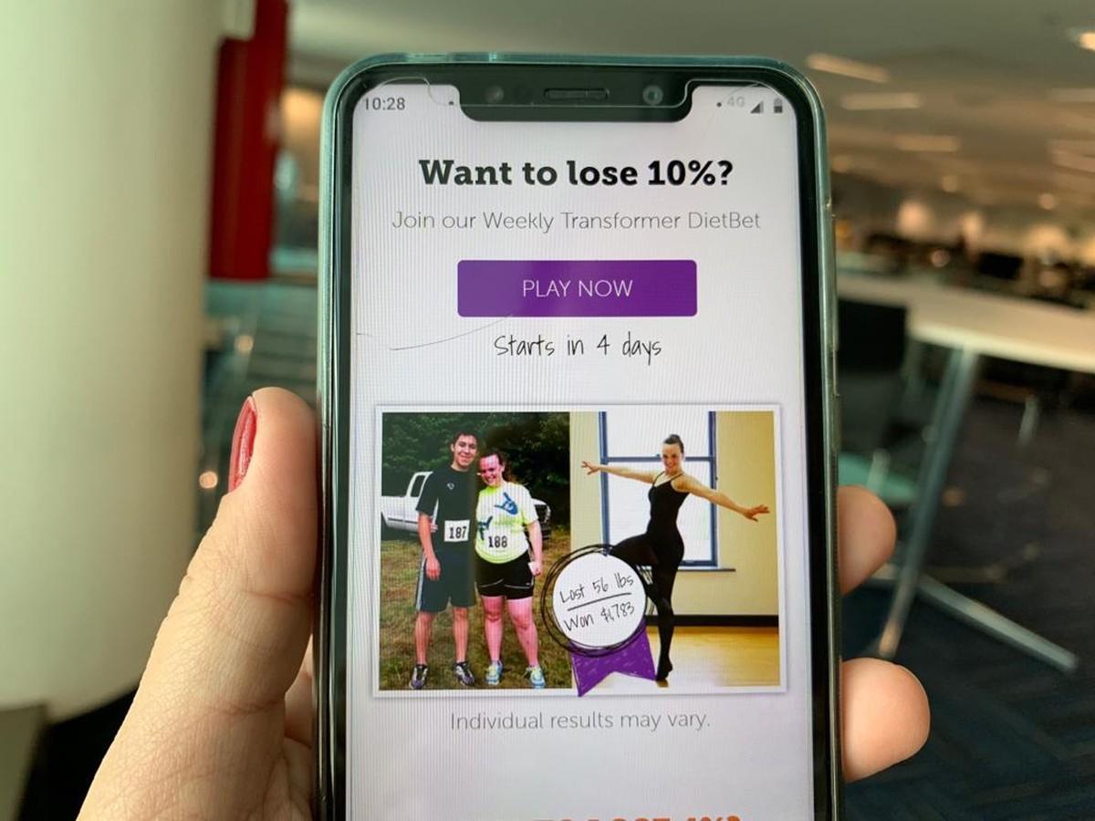 Aplikasi menawarkan hadiah uang tunai bagi mereka yang menurunkan berat badan;  lihat risiko