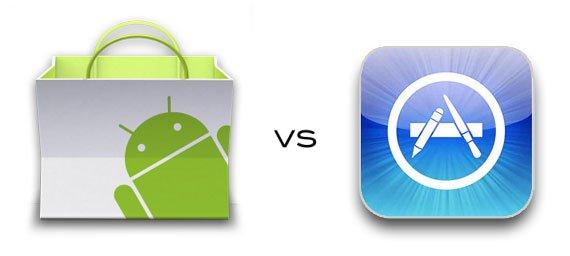 Apakah aplikasi Android lebih rendah daripada iOS?