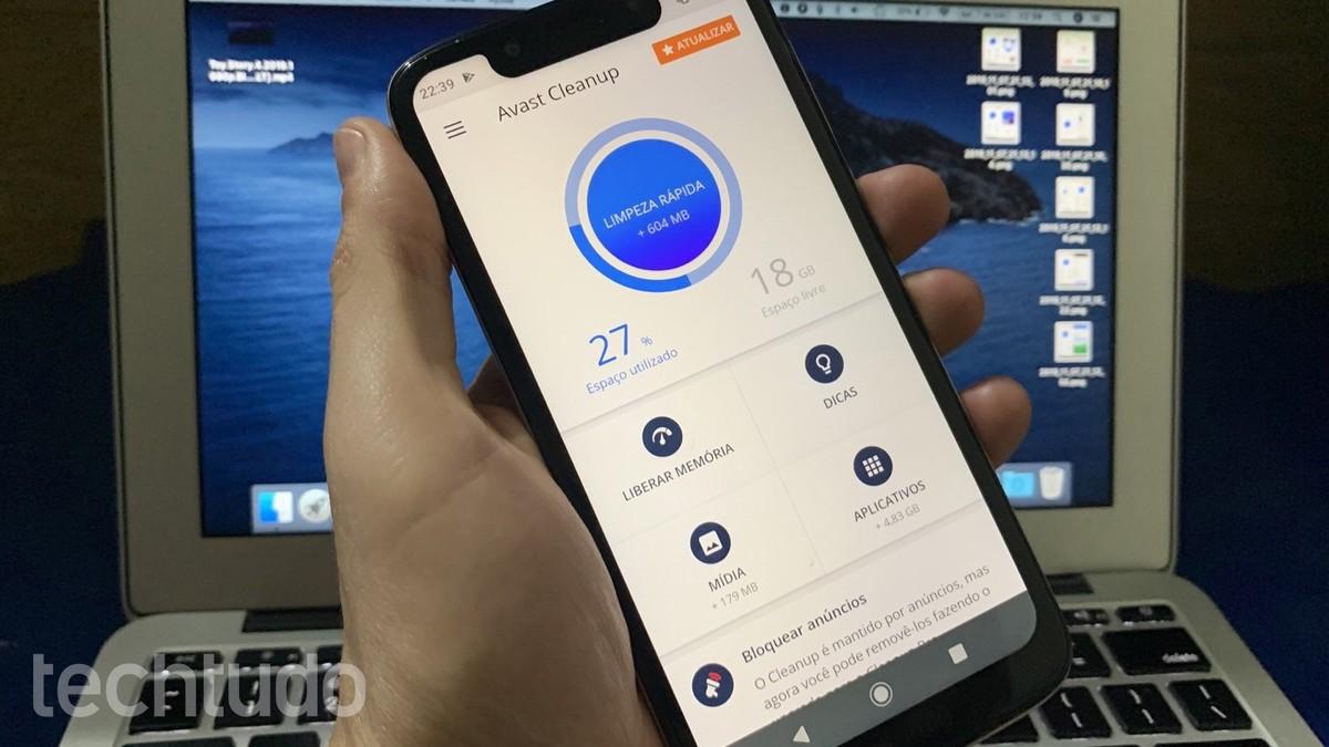 Avast Cleanup membersihkan file Android untuk meningkatkan kinerja