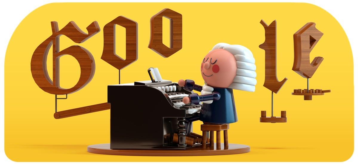 Bach memenangkan Google Doodle pertama dengan Artificial Intelligence