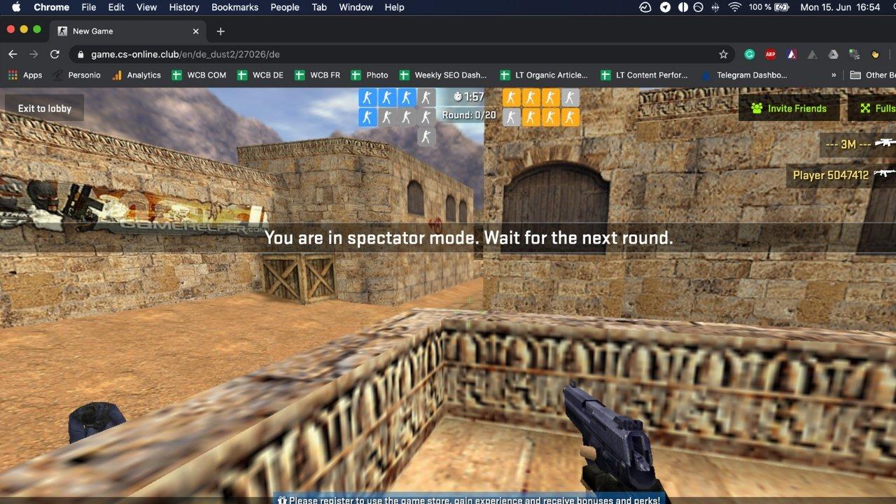 Counter-Strike 1.6 sekarang dapat dimainkan secara gratis di browser