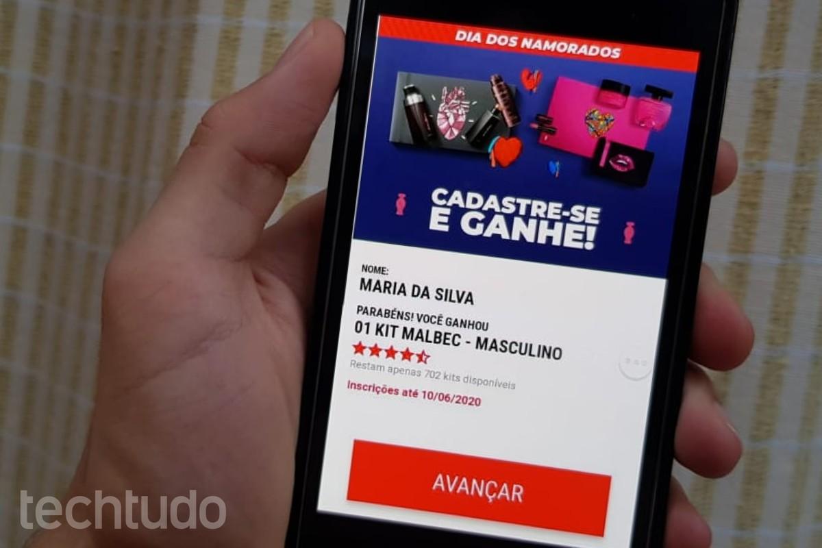 Kudeta dengan kit O Boticário pada Hari Valentine menipu pengguna di WhatsApp