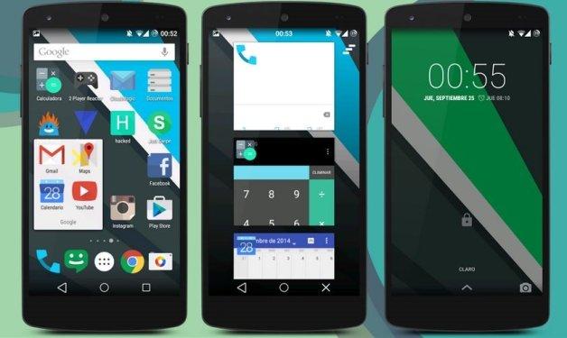 Tema CyanogenMod membuat smartphone Anda tampak seperti Android L