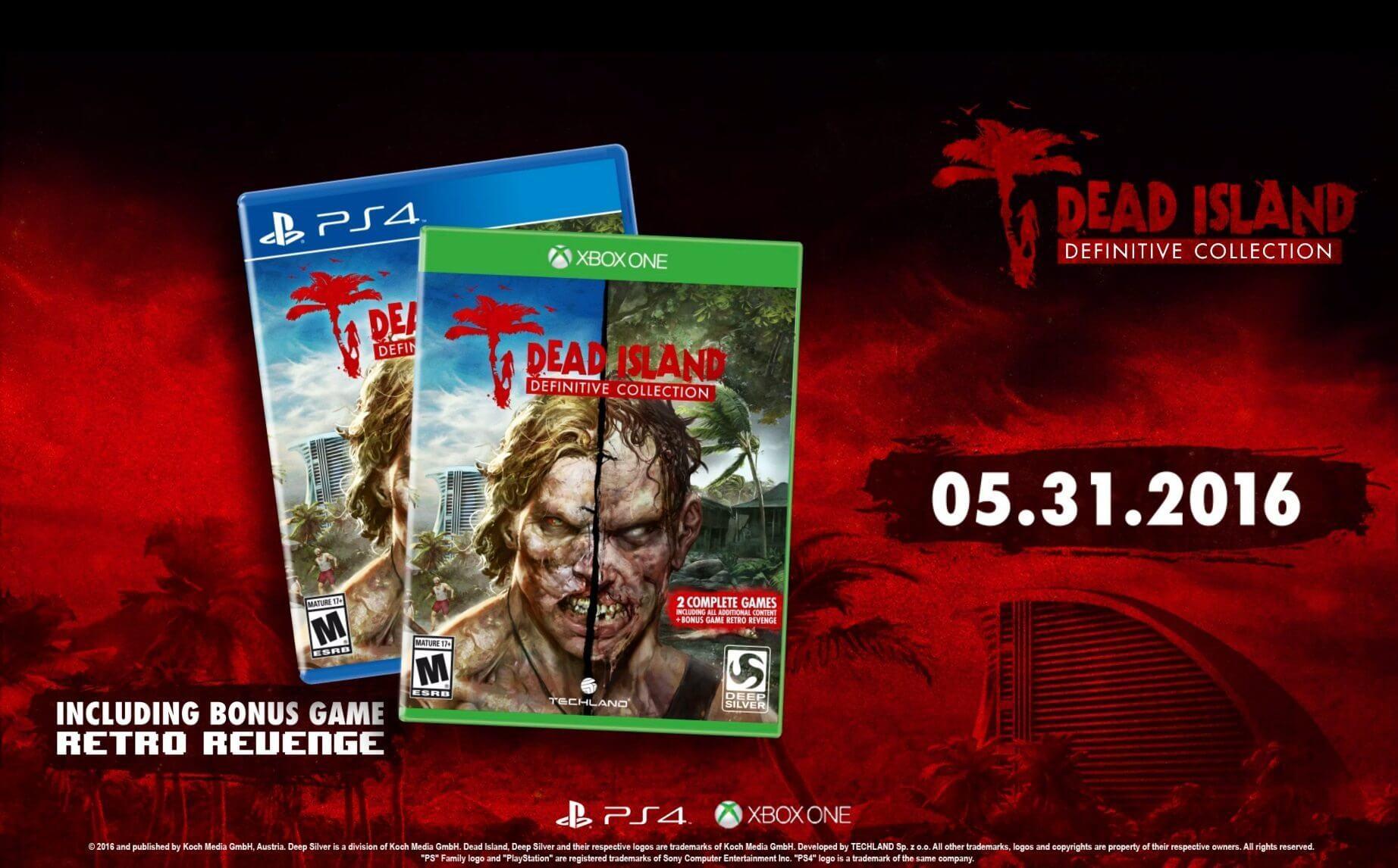 Dead Island: Definitive Collection será lançado para PS4/ONE em maio