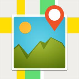 FotoMap-where photo was taken app icon