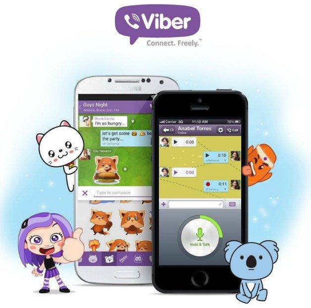 Panggilan gratis ke telepon rumah di Brasil melalui Viber