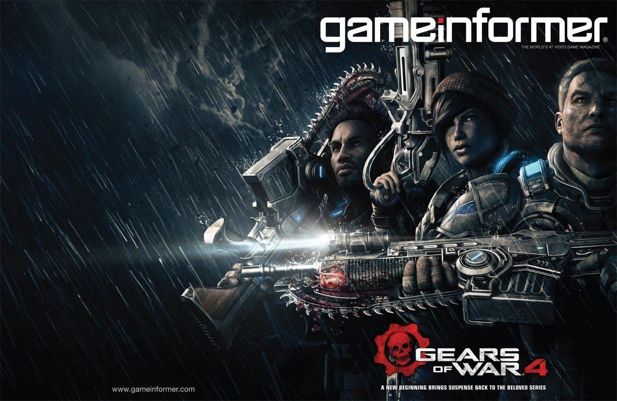 Gears of War 4: Protagonistas e detalhes revelados