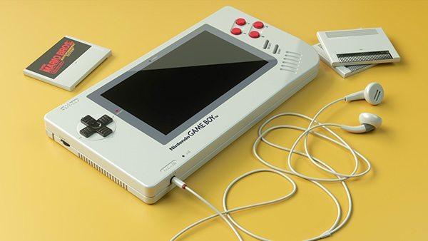 Designer alemão cria versão atual do primeiro Game Boy