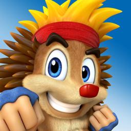 Crazy Hedgy - 3D Platformer app icon