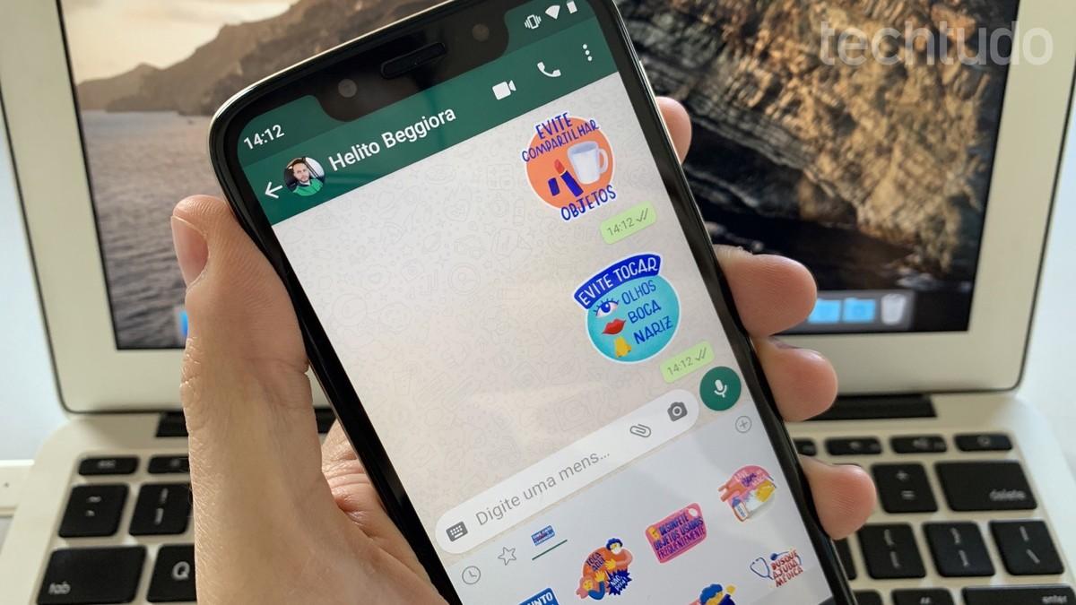 Coronavirus: WhatsApp dan Kementerian Kesehatan meluncurkan stiker