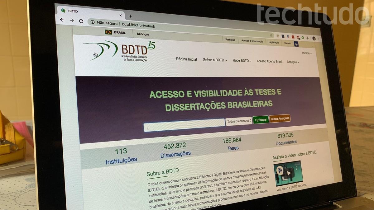 BDTD: bagaimana mencari teks akademik di Perpustakaan Tesis dan Disertasi