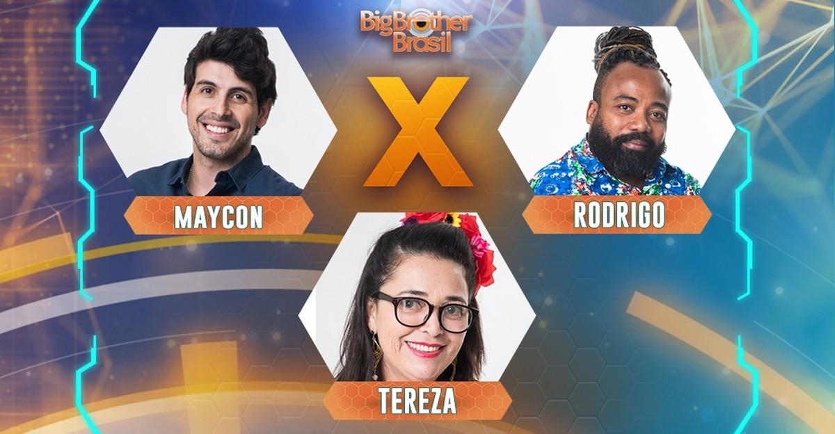 Dinding BBB 19: cara memilih untuk menghilangkan Maycon, Rodrigo atau Tereza