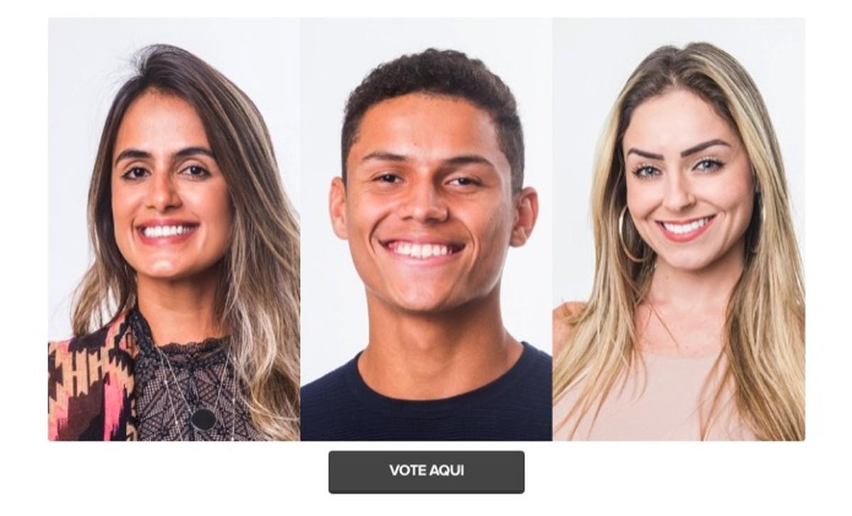 BBB 2019: cara memilih untuk menghilangkan Paula, Carol atau Danrley