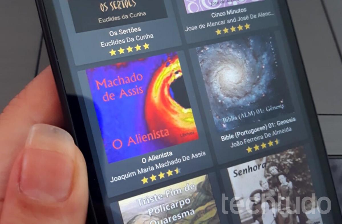 Buku audio gratis dalam bahasa Portugis: daftar menghadirkan empat aplikasi untuk mendengarkan buku