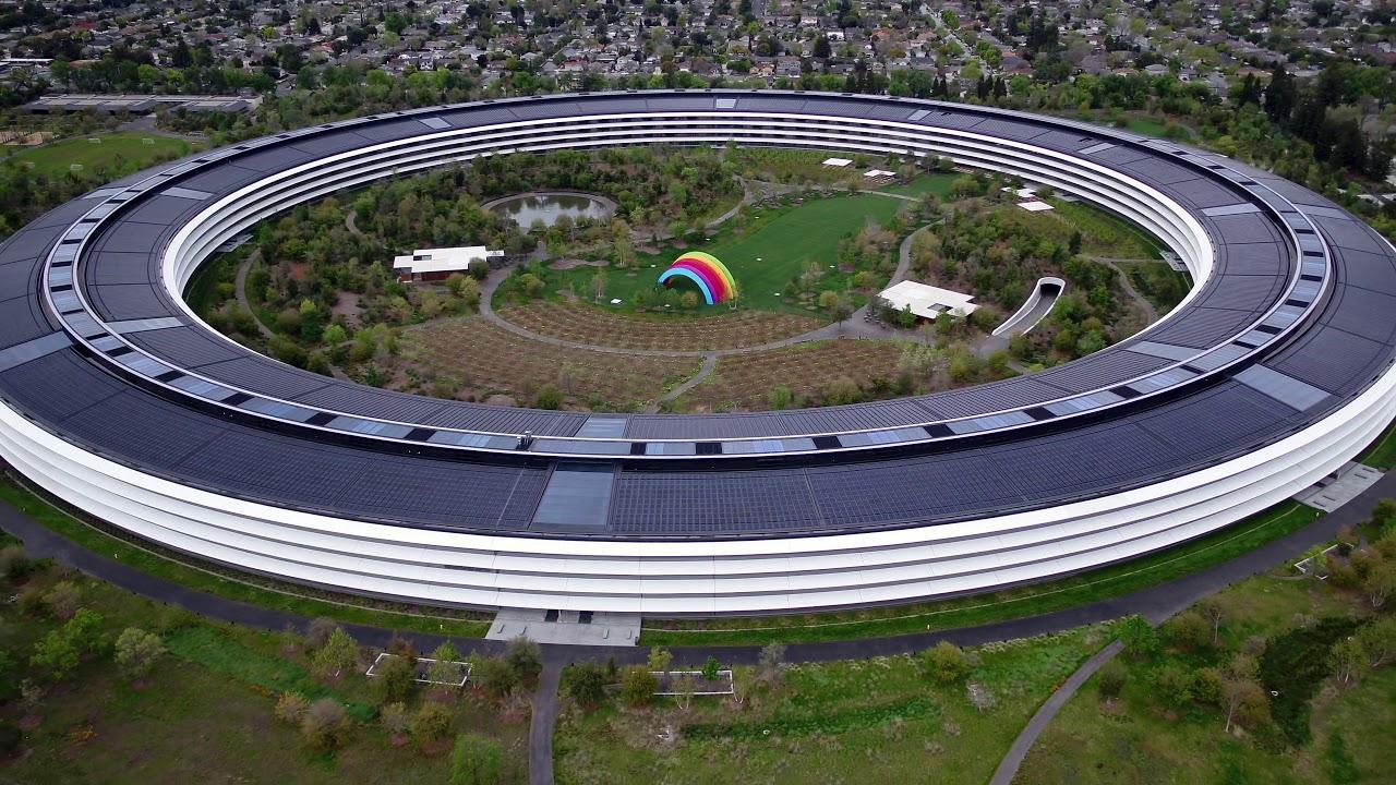 Coronavirus: video shows quarantined Apple Park